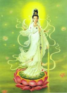เจ้าแม่กวนอิมหินแกะ (เครื่องรางจีนเสริมศิริมงคล)