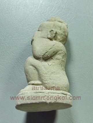กุมารพรายกระซิบ เนื้อผงพรายกุมารในครรภ์ หลวงปู่น้อย วัดป่าดอนประดู่ ขนาดบูชา