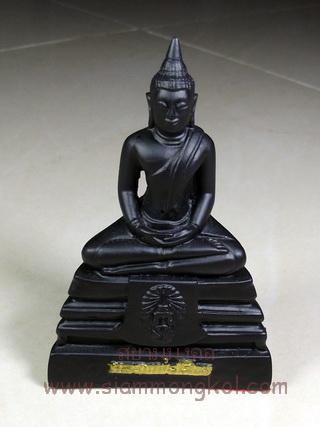 พระบูชาหลวงพ่อโสธร หน้าตัก 1 นิ้ว เนื้อนิล จังหวัดกาญจนบุรี