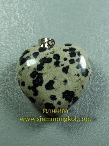 หินรูปหัวใจ dlamatial jasper