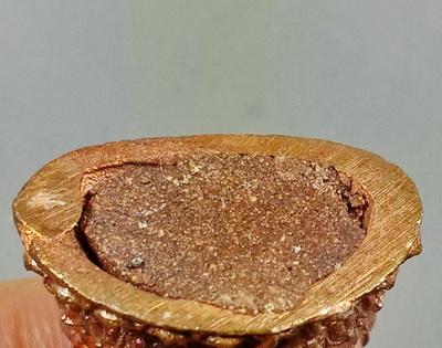 รูปหล่อพระเจ้าชัยวรมันที่ 7 เนื้อทองแดง ชนวนเก่าหลวงปู่ชื่น อาจารย์สรายุทธจัดสร้าง