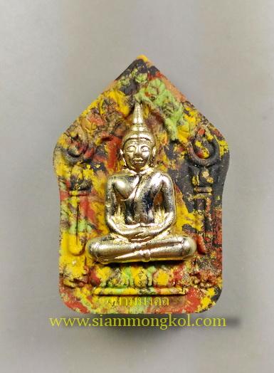 ขุนแผนหลังกุมารทอง หน้ากากเงิน วัดช่องกลิ้งช่องกรด จ.กาญจนบุรี