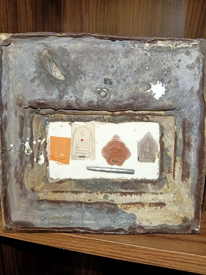 รูปหล่อพ่อขุนแผน อุ้มกุมารทอง ขนาด 5 นิ้ว หลวงปู่คีย์ วัดศรีลำยอง จ.สุรินทร์:03041